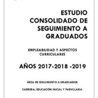 CARRERA DE EDUCACIÓN INICIAL Y PARVULARIA