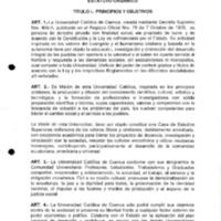 Proyecto de reforma Estatuto Orgánico