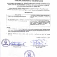 Requisitos - Gremio