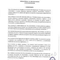 Resolución Nro. C.U. 684 -2019-UCACUE