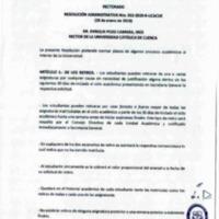 Resolución Administrativa Nro. 053-2019-R-UCACUE | Universidad Católica de Cuenca. | 29/01/2019