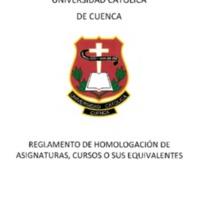 REGLAMENTO DE HOMOLOGACION DE ASIGNATURAS.PDF