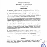 RESOLUCIÓN C.U. 366-2016-UCACUE