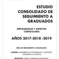 CARRERA DE INGENIERÍA EN CONTABILIDAD Y AUDITORÍA.