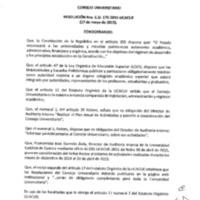 RESOLUCIÓN C.U. 170-2015-UCACUE