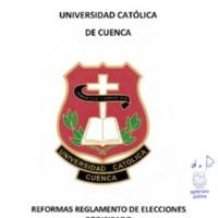 Reforma - Reglamento elecciones 27-09-2017