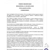 RESOLUCIÓN C.U. 261-2015-UCACUE