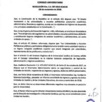 Resolución Nro. C.U. 587-2018-UCACUE