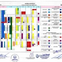 Calendario Académico septiembre 2018 - febrero 2019 - Carreras Universitarias<br /><br /> <br /><br />