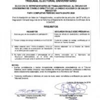 Requisitos Trabajadores para Cogobierno