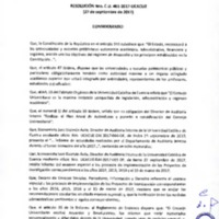 Resolución C.U. 461-2017 - UCACUE