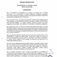 RESOLUCIÓN C.U. 324-2016-UCACUE