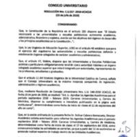 Resolución Nro. C.U. 557-2018-UCACUE