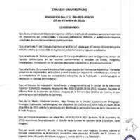 RESOLUCIÓN C.U. 289-2015-UCACUE