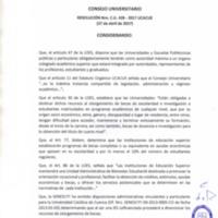 RESOLUCIÓN C.U. 426-2017-UCACUE