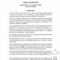 RESOLUCIÓN C.U. 335-2016-UCACUE