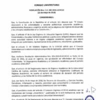 RESOLUCIÓN C.U. 342-2016-UCACUE
