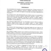 Resolución Nro. C.U. 662-2019-UCACUE<br /><br />