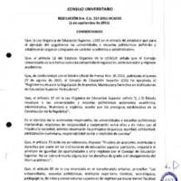 RESOLUCIÓN C.U. 257-2015-UCACUE