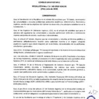 Resolución Nro. C.U. 543-2018-UCACUE