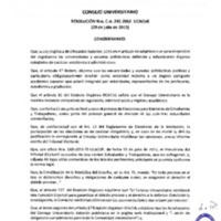 RESOLUCIÓN C.U. 241-2015-UCACUE