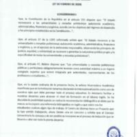 Resolución Nro. C.U. 733 -2019-UCACUE