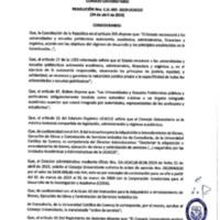<br /><br /> Resolución Nro. C.U. 643-2019-UCACUE