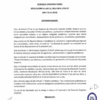 RESOLUCIÓN C.U. 046-2014-UCACUE